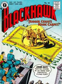 Cover Thumbnail for Blackhawk (Thorpe & Porter, 1956 series) #10