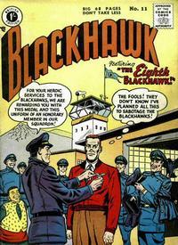 Cover Thumbnail for Blackhawk (Thorpe & Porter, 1956 series) #11