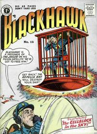 Cover Thumbnail for Blackhawk (Thorpe & Porter, 1956 series) #12