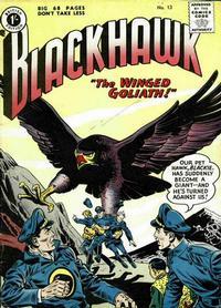 Cover Thumbnail for Blackhawk (Thorpe & Porter, 1956 series) #13