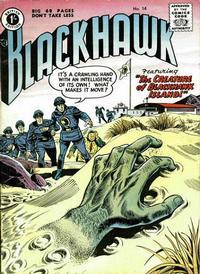 Cover Thumbnail for Blackhawk (Thorpe & Porter, 1956 series) #14