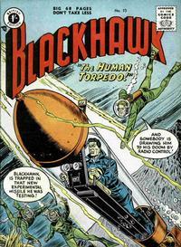 Cover Thumbnail for Blackhawk (Thorpe & Porter, 1956 series) #15