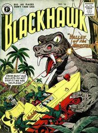Cover Thumbnail for Blackhawk (Thorpe & Porter, 1956 series) #16