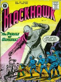 Cover Thumbnail for Blackhawk (Thorpe & Porter, 1956 series) #17