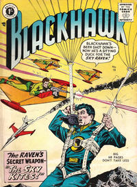 Cover Thumbnail for Blackhawk (Thorpe & Porter, 1956 series) #18