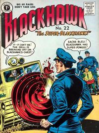 Cover Thumbnail for Blackhawk (Thorpe & Porter, 1956 series) #22