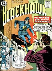 Cover Thumbnail for Blackhawk (Thorpe & Porter, 1956 series) #23