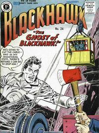 Cover Thumbnail for Blackhawk (Thorpe & Porter, 1956 series) #24