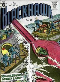 Cover Thumbnail for Blackhawk (Thorpe & Porter, 1956 series) #25