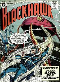 Cover Thumbnail for Blackhawk (Thorpe & Porter, 1956 series) #27