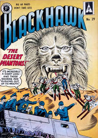 Cover Thumbnail for Blackhawk (Thorpe & Porter, 1956 series) #29