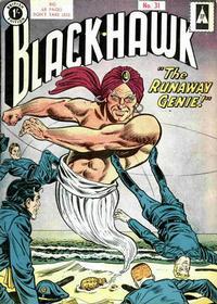 Cover Thumbnail for Blackhawk (Thorpe & Porter, 1956 series) #31