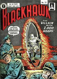 Cover Thumbnail for Blackhawk (Thorpe & Porter, 1956 series) #32
