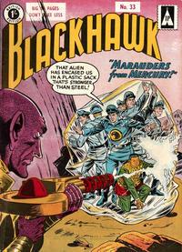 Cover Thumbnail for Blackhawk (Thorpe & Porter, 1956 series) #33