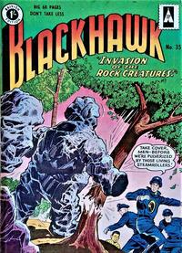 Cover Thumbnail for Blackhawk (Thorpe & Porter, 1956 series) #35