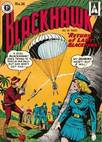 Cover Thumbnail for Blackhawk (Thorpe & Porter, 1956 series) #36