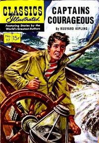 Cover Thumbnail for Classics Illustrated (Gilberton, 1947 series) #117 [O] - Captains Courageous
