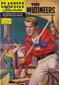 Cover Thumbnail for Classics Illustrated (Gilberton, 1947 series) #122 [O] - The Mutineers