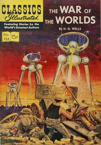 Cover Thumbnail for Classics Illustrated (Gilberton, 1947 series) #124 [O] - The War of the Worlds