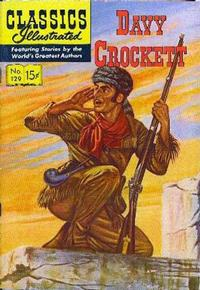 Cover Thumbnail for Classics Illustrated (Gilberton, 1947 series) #129 [O] - Davy Crockett