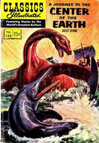 Cover Thumbnail for Classics Illustrated (Gilberton, 1947 series) #138 [O] - A Journey to the Center of the Earth
