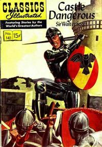 Cover for Classics Illustrated (Gilberton, 1947 series) #141 [O] - Castle Dangerous