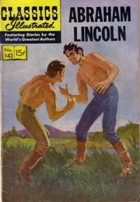Cover Thumbnail for Classics Illustrated (Gilberton, 1947 series) #142 [O] - Abraham Lincoln
