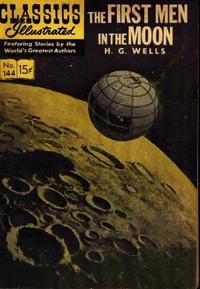 Cover Thumbnail for Classics Illustrated (Gilberton, 1947 series) #144 [O] - The First Men in the Moon