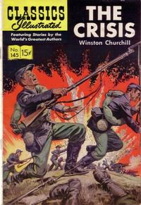 Cover Thumbnail for Classics Illustrated (Gilberton, 1947 series) #145 [O] - The Crisis