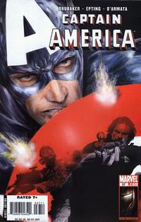 Cover Thumbnail for Captain America (Marvel, 2005 series) #37 [Direct Edition]