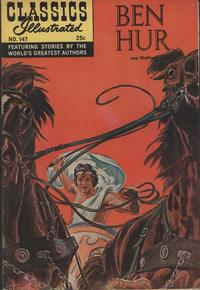 Cover Thumbnail for Classics Illustrated (Gilberton, 1947 series) #147 [O] - Ben Hur [New Painted Cover]