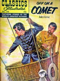 Cover Thumbnail for Classics Illustrated (Gilberton, 1947 series) #149 [HRN 166] - Off on a Comet