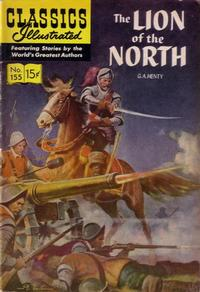 Cover Thumbnail for Classics Illustrated (Gilberton, 1947 series) #155 [O] - The Lion of the North