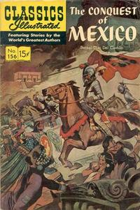 Cover Thumbnail for Classics Illustrated (Gilberton, 1947 series) #156 [O] - The Conquest of Mexico