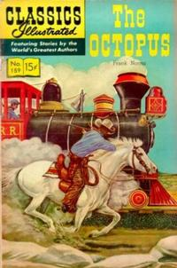 Cover Thumbnail for Classics Illustrated (Gilberton, 1947 series) #159 [O] - The Octopus