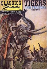 Cover Thumbnail for Classics Illustrated (Gilberton, 1947 series) #166 [O] - Tigers and Traitors