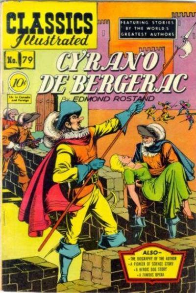 Cover for Classics Illustrated (Gilberton, 1947 series) #79 [O] - Cyrano de Bergerac