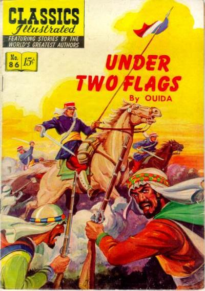 Cover for Classics Illustrated (Gilberton, 1947 series) #86 [O] - Under Two Flags