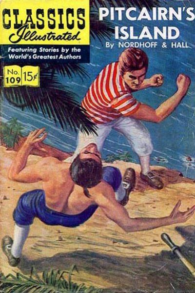 Cover for Classics Illustrated (Gilberton, 1947 series) #109 [O] - Pitcairn's Island