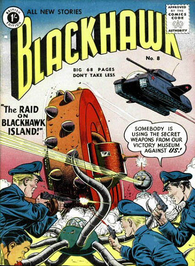 Cover for Blackhawk (Thorpe & Porter, 1956 series) #8