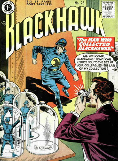 Cover for Blackhawk (Thorpe & Porter, 1956 series) #23