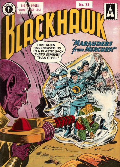 Cover for Blackhawk (Thorpe & Porter, 1956 series) #33