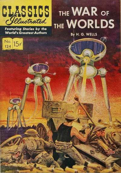 Cover for Classics Illustrated (Gilberton, 1947 series) #124 [O] - The War of the Worlds