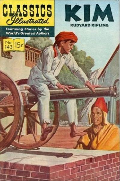 Cover for Classics Illustrated (Gilberton, 1947 series) #143 [O] - Kim [HRN 167]