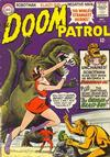 Cover for The Doom Patrol (DC, 1964 series) #100