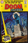 Cover for The Doom Patrol (DC, 1964 series) #121