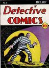 Cover for Detective Comics (DC, 1937 series) #3