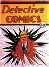 Cover for Detective Comics (DC, 1937 series) #4