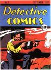 Cover for Detective Comics (DC, 1937 series) #7