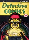 Cover for Detective Comics (DC, 1937 series) #8